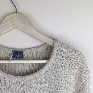 Urban outfitters sparkle & fade spring sweater